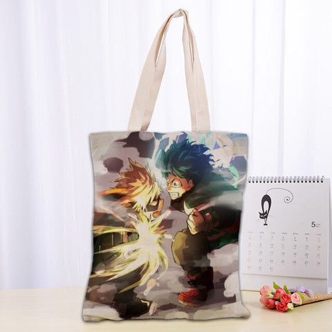 Tote Bag My Hero Academia Katsuki vs Izuku