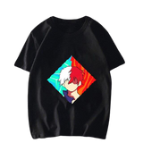 T shirt my hero academia Streetwear shoto