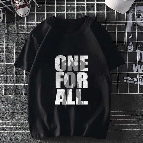 T shirt my hero academia Streetwear One For All