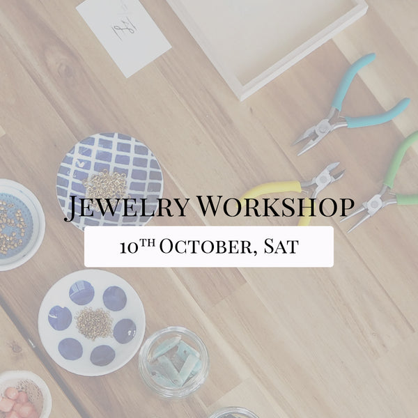SSEK Jewelry Workshop, 10th October 2020, Saturday