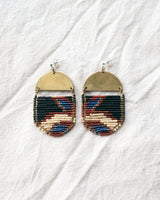 Galia Earrings, Sapphire
