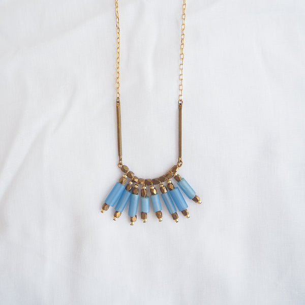 Blue Maya Necklace