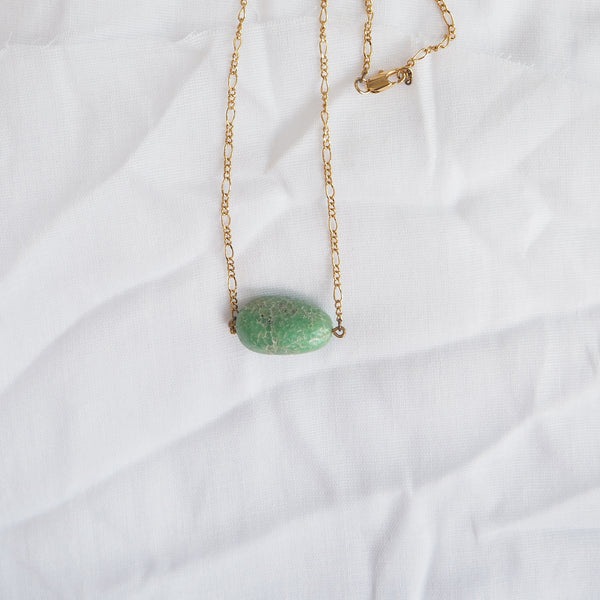Chrysoprase Everyday Necklace
