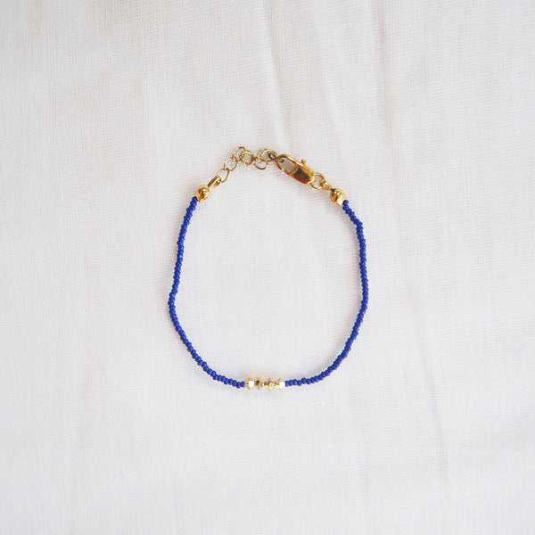 Midnight Blue Line Bracelet