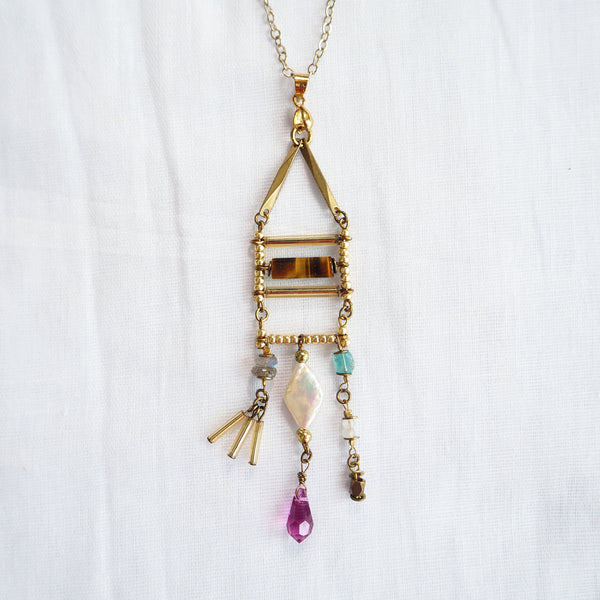 Mixed Cocktail Necklace