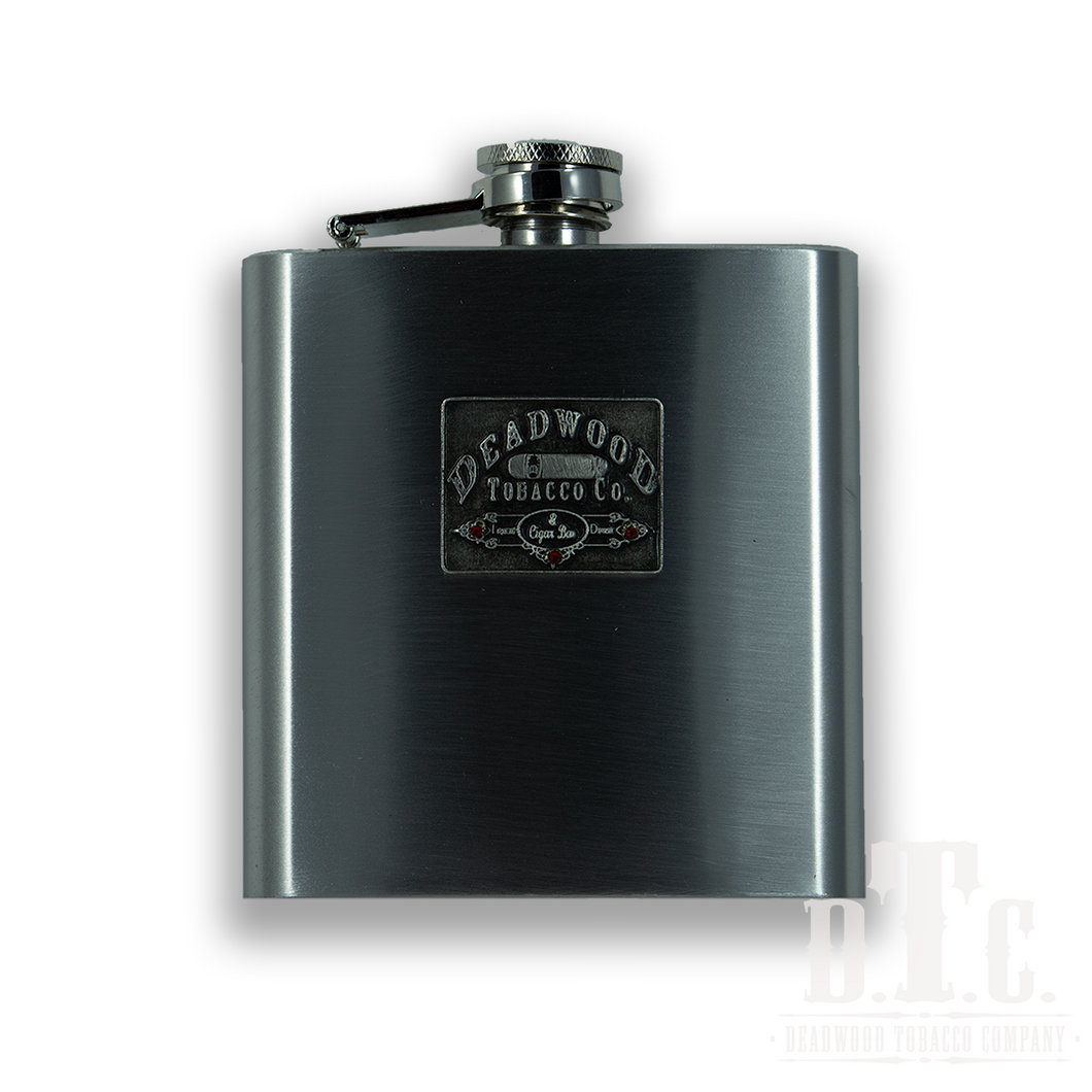 8 oz Stainless Steel Flask