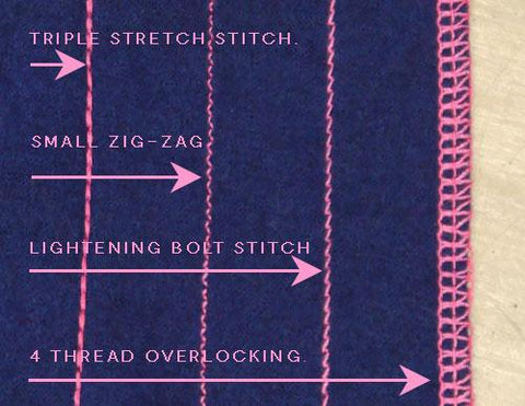 Which stitch to choose when joining seams on knits?