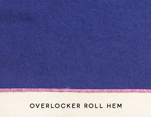 overlocker roll hem pattern fantastique sewing patterns