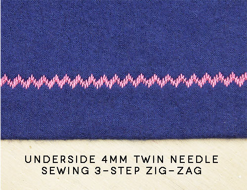 twin needle straight stitch knit hem pattern fantastique sewing patterns
