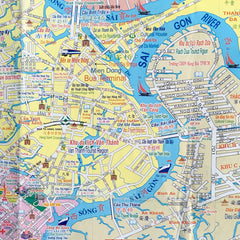 Saigon Map Pattern Fantastique