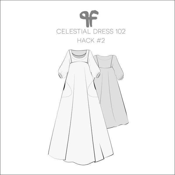 Pattern Fantastique Sewing Pattern 102 Celestial Dress Hack #2