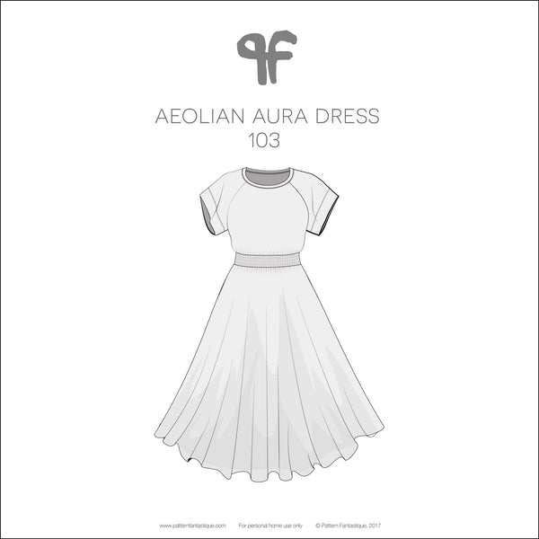 Aeolian Aura Dress 103 - Free - PDF Instructions