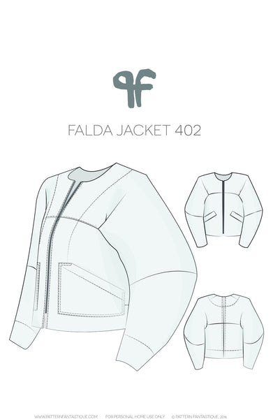 Falda Jacket Sewing Pattern 402 PDF