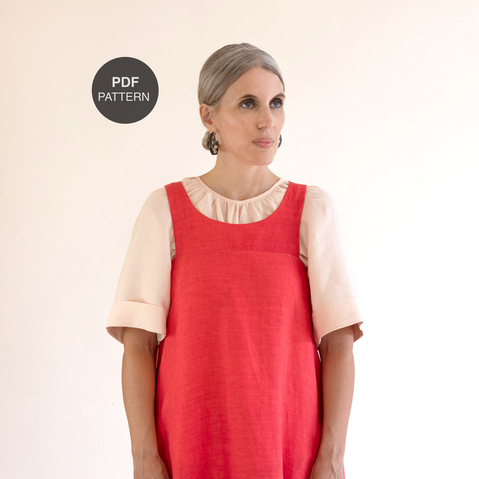 Celestial Maxi Dress 102 Pinafore Hack - PDF Pattern Addition