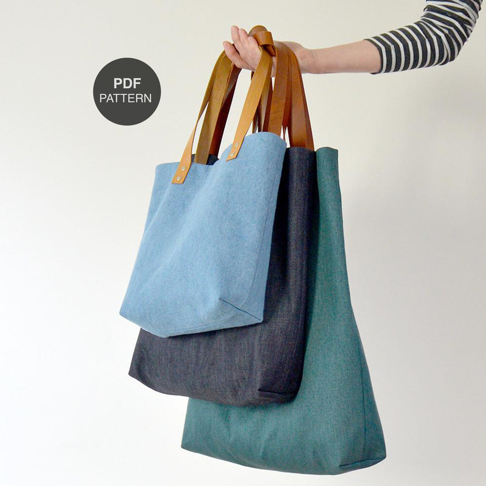 Genoa Tote (PDF Digital Pattern)
