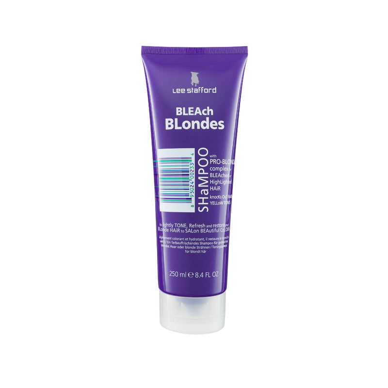Shampoo matizador morado Bleach Blondes Lee Stafford 250ml