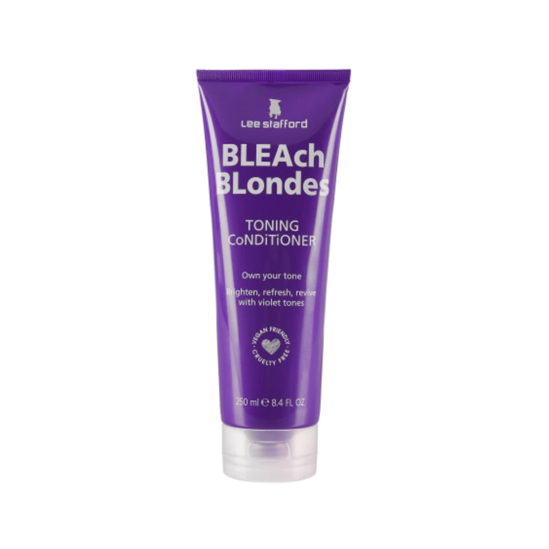 Acondicionador matizador morado Bleach Blondes Lee Stafford 250 ml