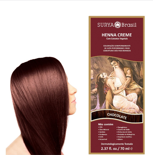 Henna en crema Chocolate Surya Brasil 70ml