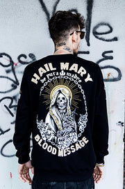 Man Sweatshirt »Hail Mary«
