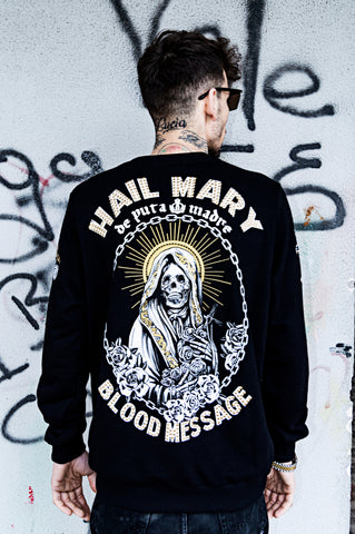 "Man Sweatshirt ""Hail Mary"""
