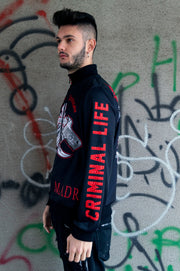 "Man Jacket ""Is Criminal«"