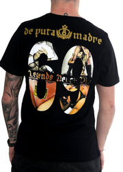 "T-shirt burrë ""Legends Never Die"""
