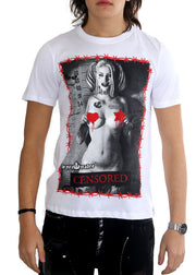 "T-shirt burrë ""Harley Censured"""