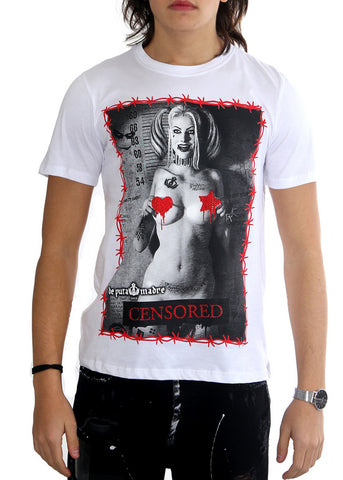 "Man T-Shirt ""Harley Censured"""
