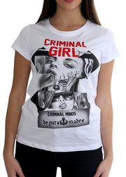 "Woman T-Shirt ""Criminal"""