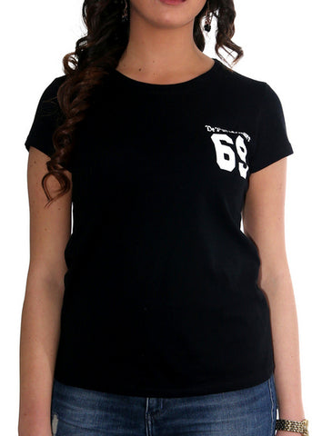 "T-Shirt Donna ""69 The Basic"""