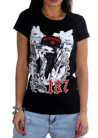 "Woman T-Shirt ""Crime Life"""