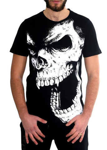 "De Puta Madre 69 Man T-Shirt ""The Skull"" - De Puta Madre 69 Official Online Store - De Puta Madre 69"