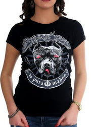 "De Puta Madre 69 Woman T-Shirt ""Gangsta"" - De Puta Madre 69 Official Online Store - De Puta Madre 69"