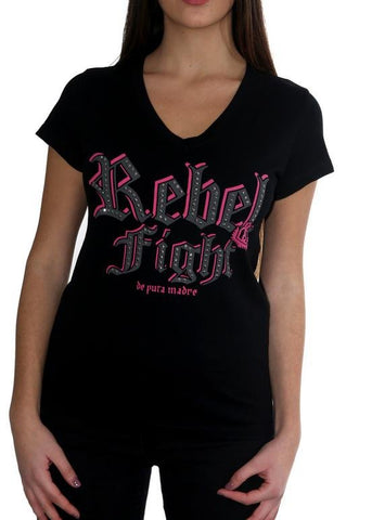 "De Puta Madre 69 T-Shirt Donna ""Rebel Queen""- De Puta Madre 69 Negozio online ufficiale - De Puta Madre 69"