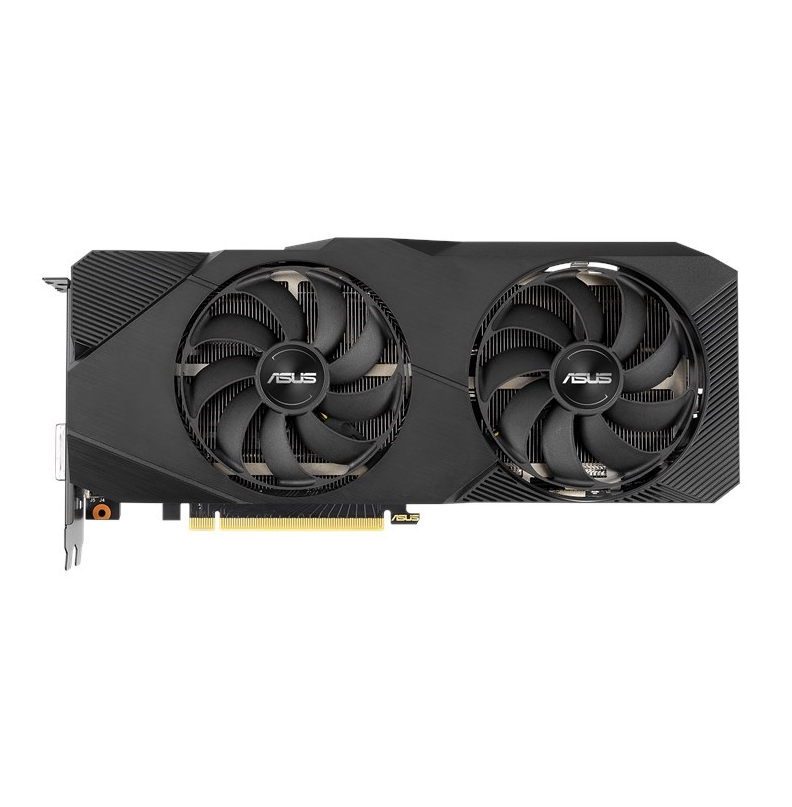 ASUS NVIDIA Dual GeForce RTX 2060 SUPER EVO V2 OC Edition 8GB GDDR6 with two powerful Axial-tech fans for AAA gaming performance and ray tracing