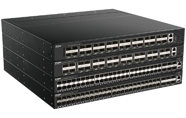54-Port Data Centre Switch with 48 10 GbE SFP+ Ports and 6 40 GbE QSFP+ Ports, Bare Metal, ONIE compatible