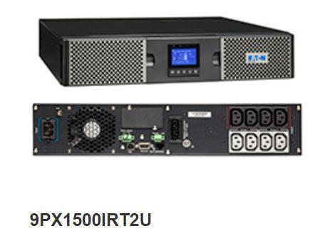 25Kg+ Freight Rate-Eaton 9PX 1500VA 2U Rack/Tower 10Amp Input, 230V (AU cord & Rail Kit incd)