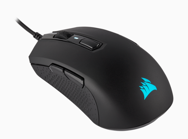 CORSAIR M55 RGB PRO Ambidextrous Multi-Grip Gaming Mouse