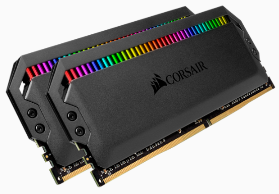 CORSAIR DOMINATOR PLATINUM RGB DDR4, 3600MHz 16GB 2x8GB DIMM, Unbuffered, 18-19-19-39, XMP 2.0, Black Heatspreader, RGB LED, 1.35V