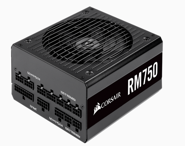 CORSAIR RM Series RM750 80 PLUS Gold Fully Modular ATX Power Supply (No Power Cord)