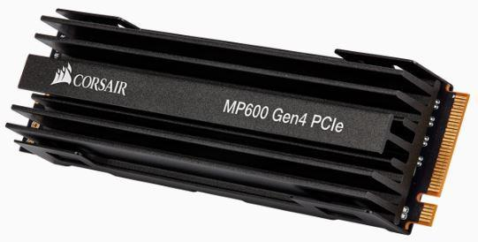 CORSAIR Force MP600 series Gen4 NVMe PCIe M.2 SSD 2TB; Up to 4,950MB/s Sequential Read, Up to 4,250MB/s Sequential Write