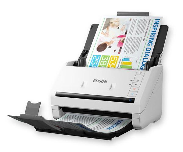 Workforce DS-530, 35ppm/70ipm, Scan to Cloud/PDF, 50sht ADF, OCR, optional network + Flatbed Dock