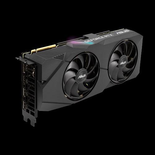 ASUS NVIDIA Dual GeForce RTX 2080 SUPER EVO V2 OC edition 8GB GDDR6 with two powerful Axial-tech fans for high refresh rate AAA gaming