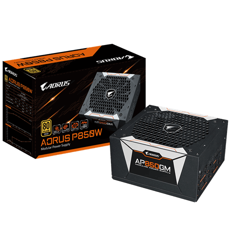AORUS P850W 80plus GOLD Modular-No AU Cord