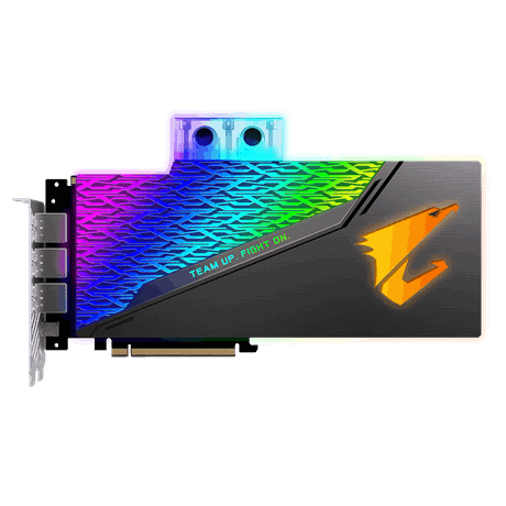 NVIDIA, RTX 2080 TI, AORUS XTREME WATERFORCE WB, 1770MHz, 11GB GDDR6, 3xDP, 3xHDMI, 1xType-C, ATX, Water Block Cooling (RGB), 750W, 3 Years Warranty