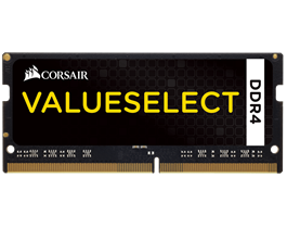 CORSAIR Value Select 16GB (1x16GB) DDR4 DRAM SODIMM 2133MHz Unbuffered 15-15-15-36 1.20V