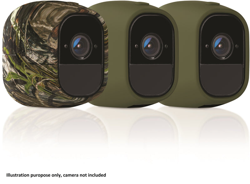 ARLO PRO REPLACEABLE UV RESISTANT 2x GREEN, 1x CAMOUFLAGE SILICONE SKIN (PACK OF 3)