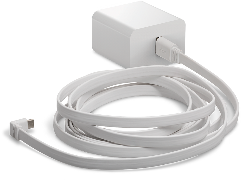 ARLO Indoor Power Cable (3m) and Adapter -Designed for Arlo Pro & Arlo Pro 2 Wire-Free Cameras & Arlo Security Lights (VMA4800)