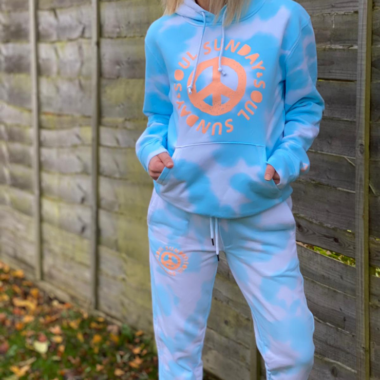 S&S x Two & Seven PEACE Clouds Joggers