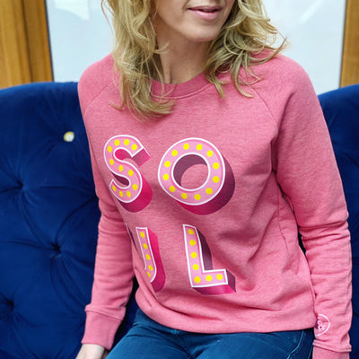 SOUL Raspberry Sweatshirt